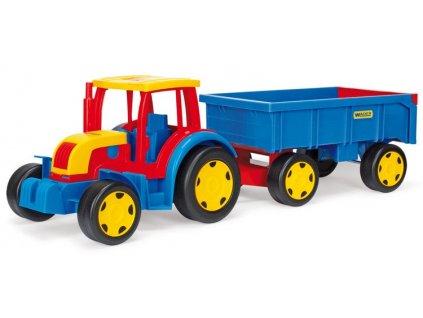 Wader 66100 Traktor s vlečkou Gigant