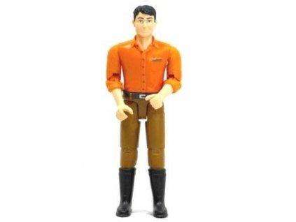 Bruder 60007 Bworld Muž hnědé kalhoty