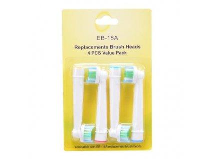 Náhradní Oral-B 3D White EB 18-4 4ks