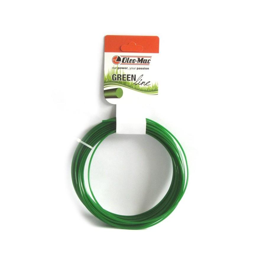 Oleo-Mac Vyžínací struna 2,0/15M kulatá
