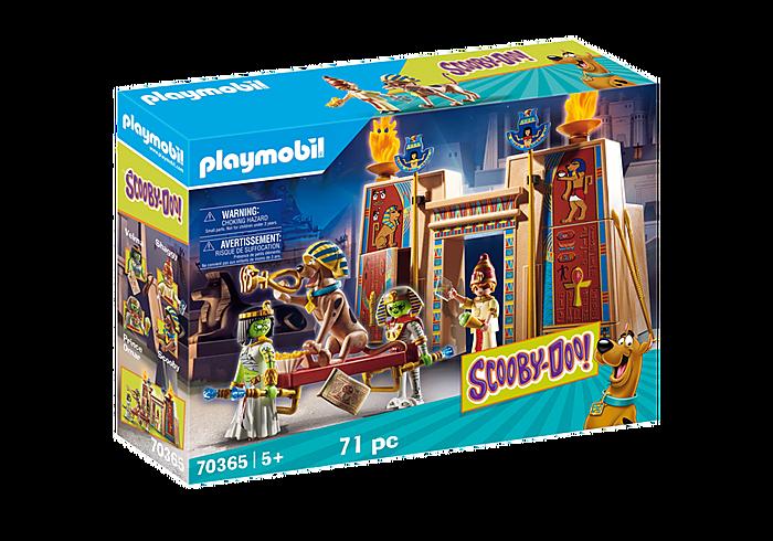 Playmobil 70365 SCOOBY-DOO! Dobrodružství v Egyptě