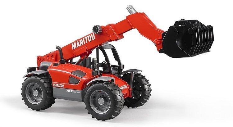 BRUDER 02125 Manipulátor Manitou MLT 633