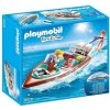 Playmobil 9428 vodní člun s motorem