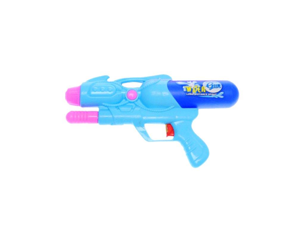 Pistol na vodu modrá
