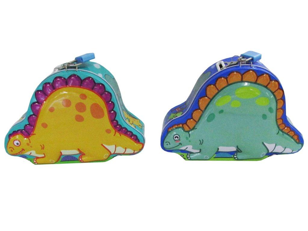 Pokladnička Dinosaurus