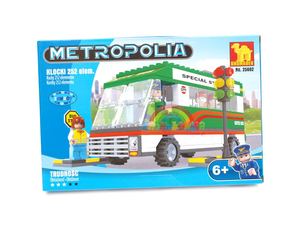 Stavebnice Autobus metropole