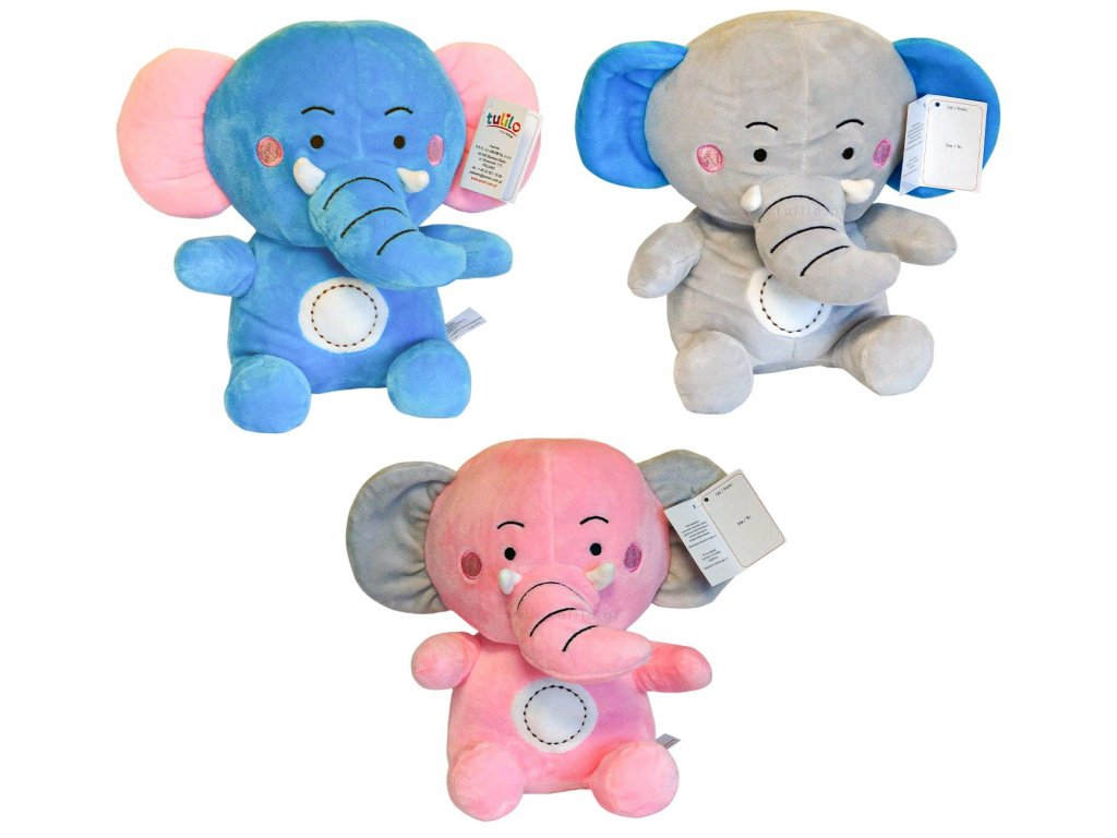 Plyšový slon Bartuś
