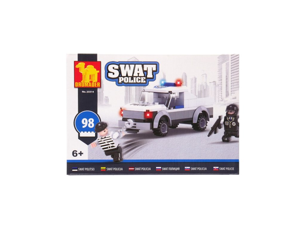 Stavebnice Policejní Pick up