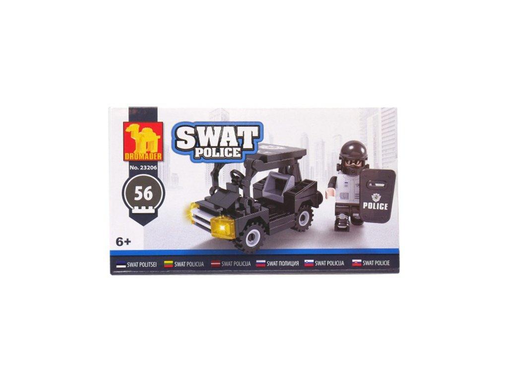 Stavebnice Policejní auto malé