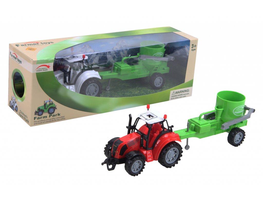 Plastový traktor s příslušenstvím