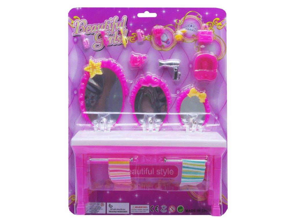 Toaletní skřínka pro panenky