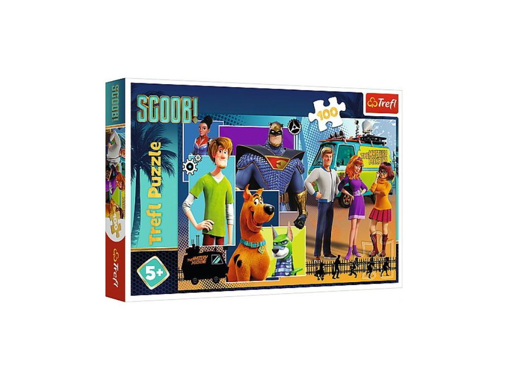 Puzzle SCOOBY DOO 100 dílků