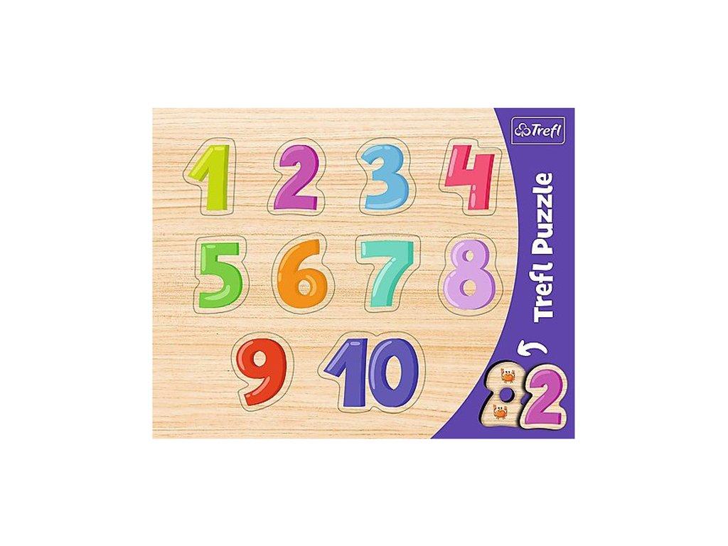 Vkládačka puzzle Číslice