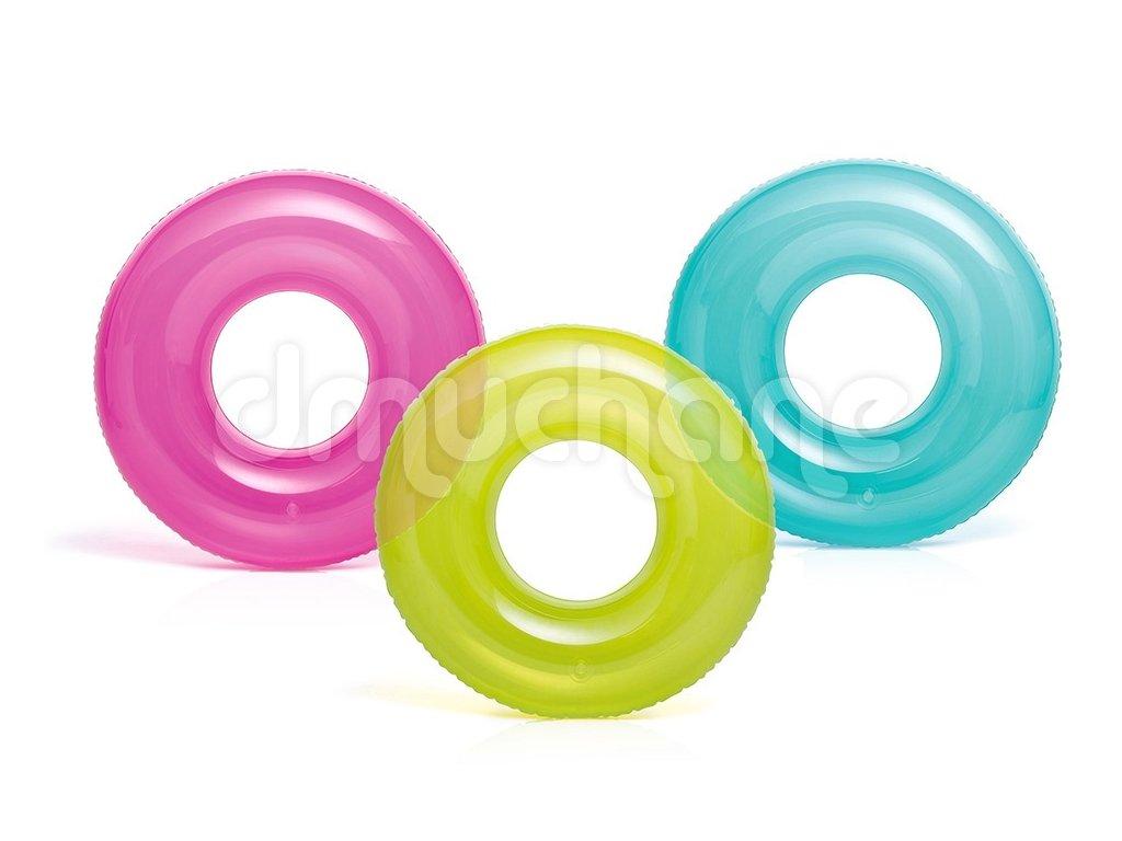 Nafukovací kruh průsvitný