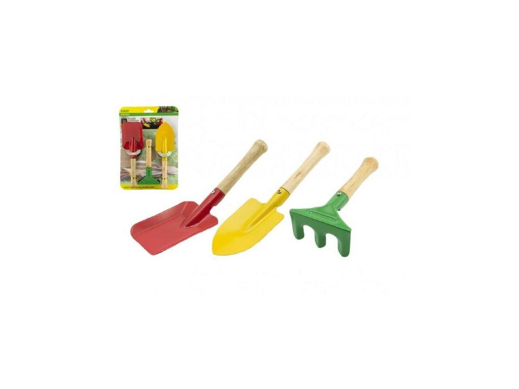 Nářadí zahradnické pro děti 3ks
