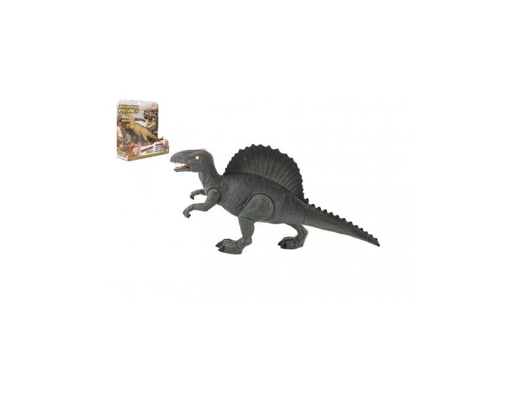 Dinosaurus na baterie se zvukem se světlem