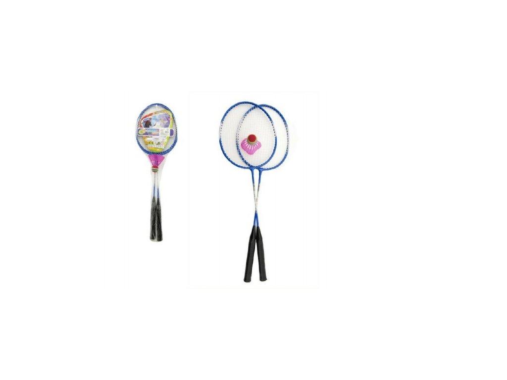 Badminton pálky a míček