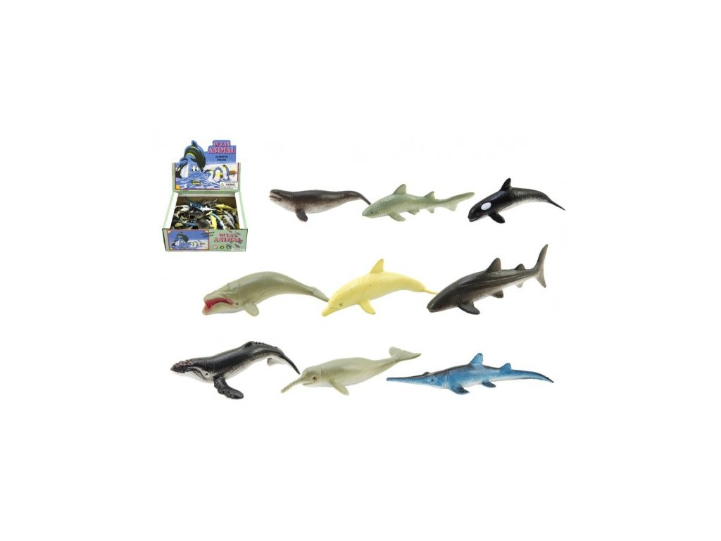 Mořská zvířátka mix