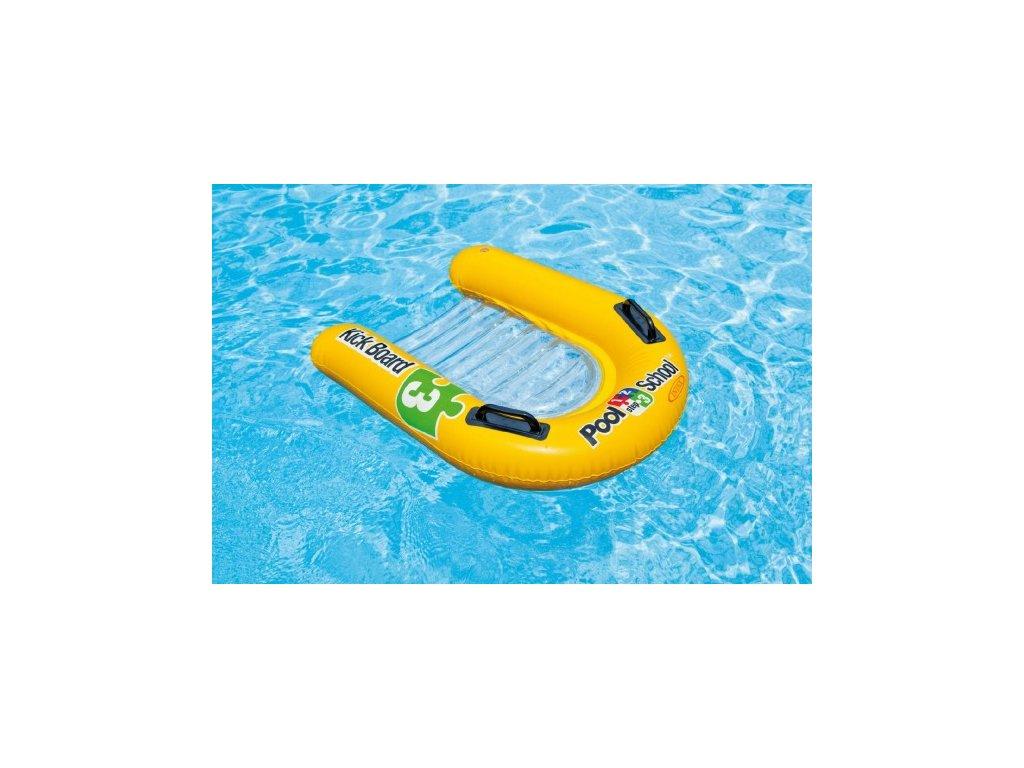 Plavací deska nafukovací lehátko s úchyty