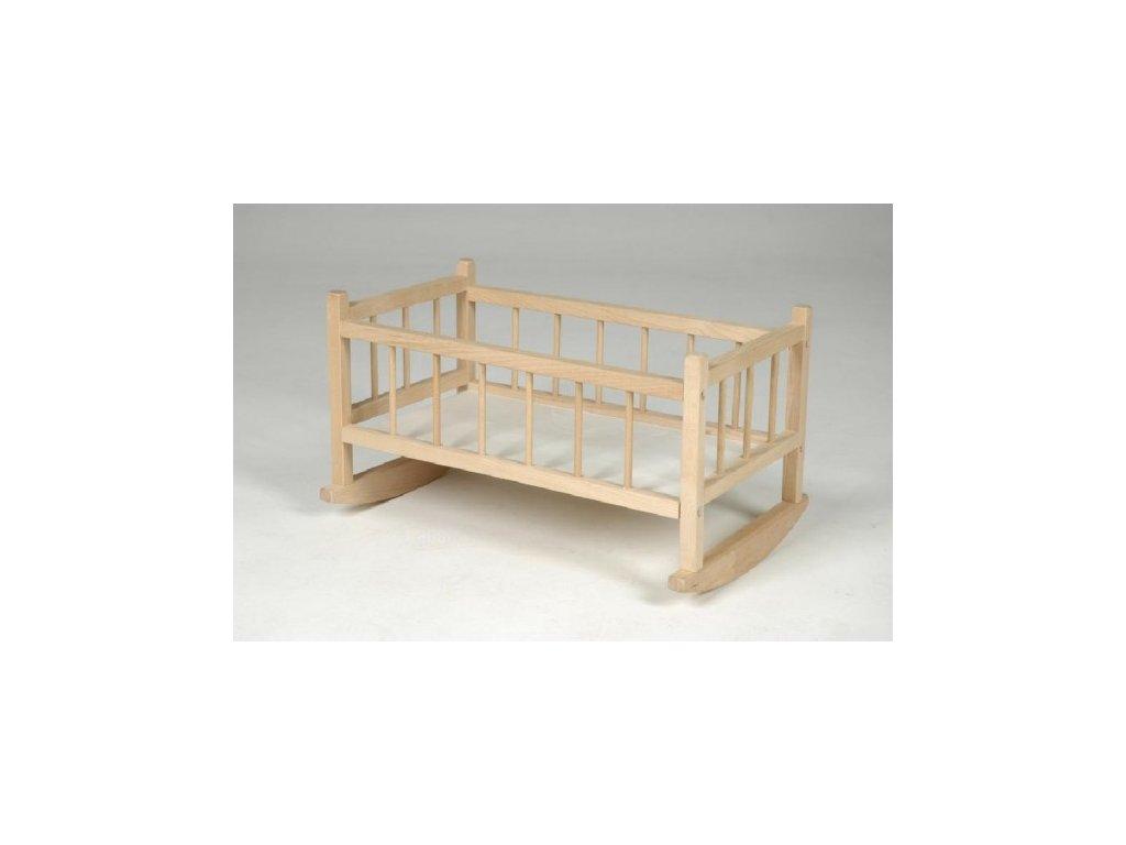 Kolébka pro panenky dřevo