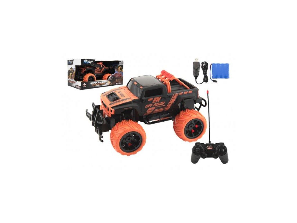 Auto RC buggy 27MHz na baterie + dobíjecí pack