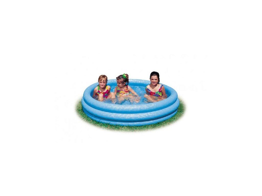 Dětský nafukovací bazén modrý 3 komory