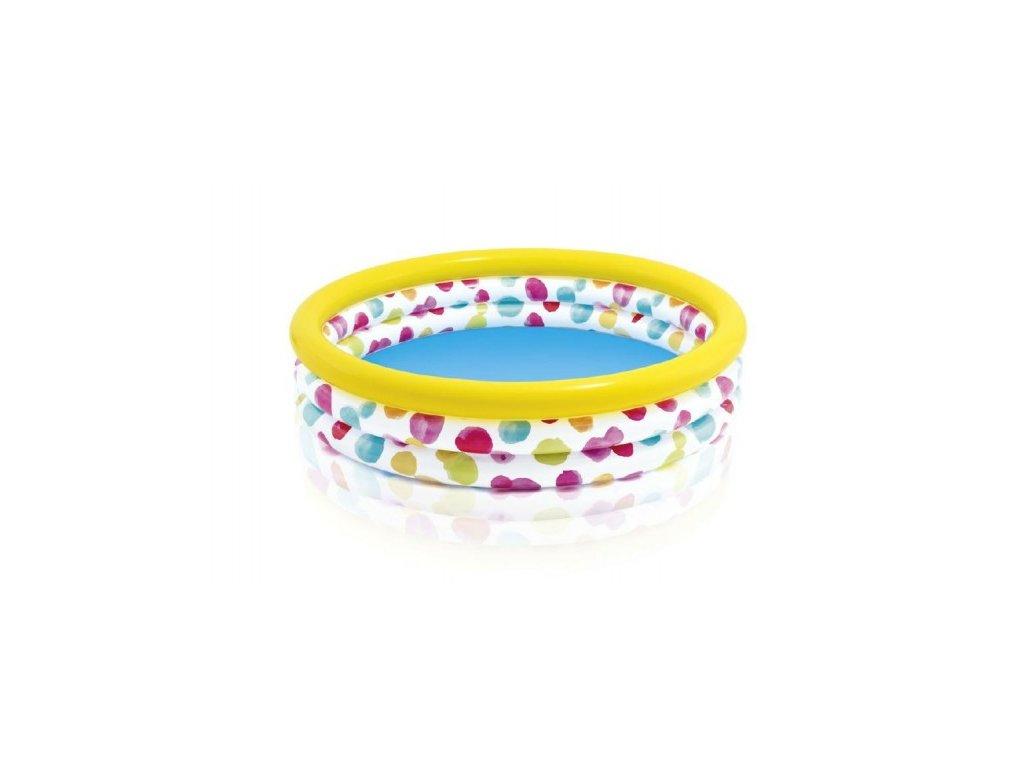 Dětský bazén s puntíky