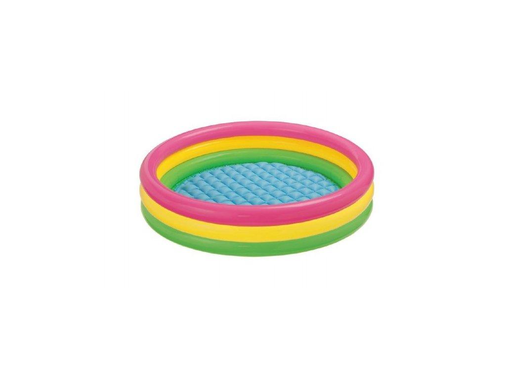 Dětský nafukovací bazén duhový