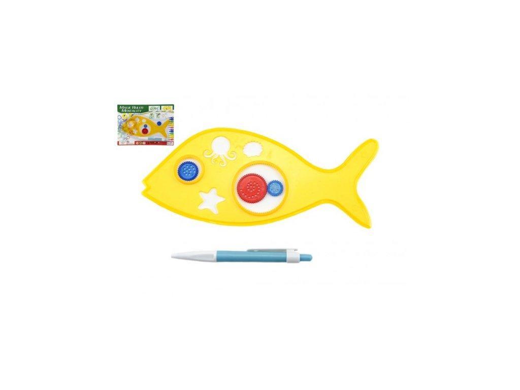 Inspiro zvířátko rybička + pero