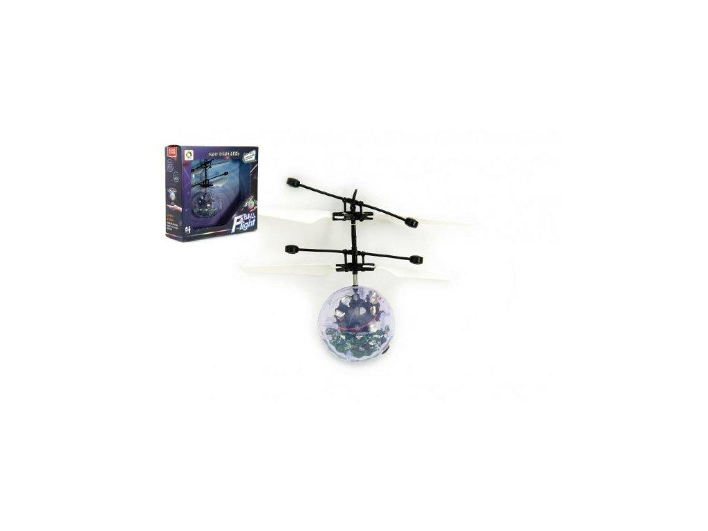 Vrtulníková koule létající s USB kabelem na nabíjení