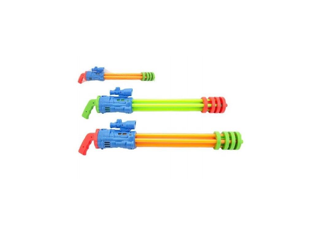 Vodní pistole trubice 2 barvy