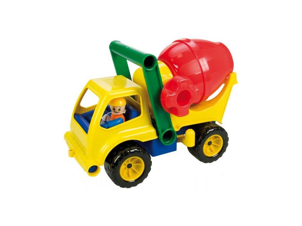 Auto domíchávač s figurkou aktivní