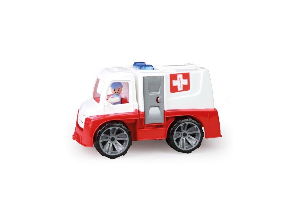 Auto Ambulance Truxx s figurkou plast 29cm 24m+