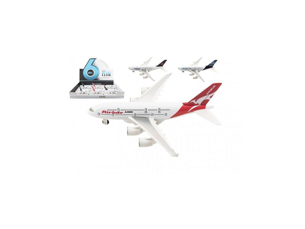 Letadlo na volný chod 3 druhy