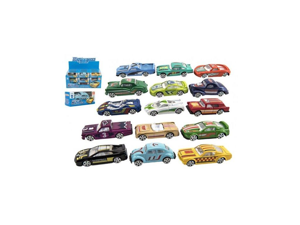 Kovové autíčko mix druhů