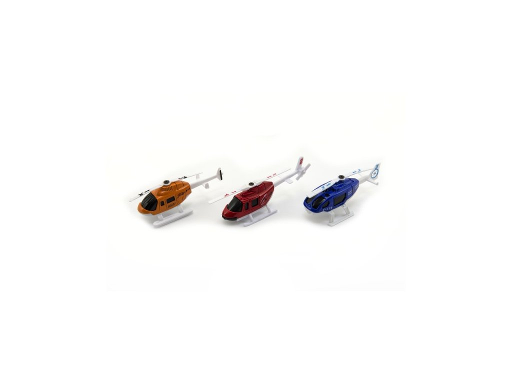 Vrtulník/Helikoptéra 3 barvy