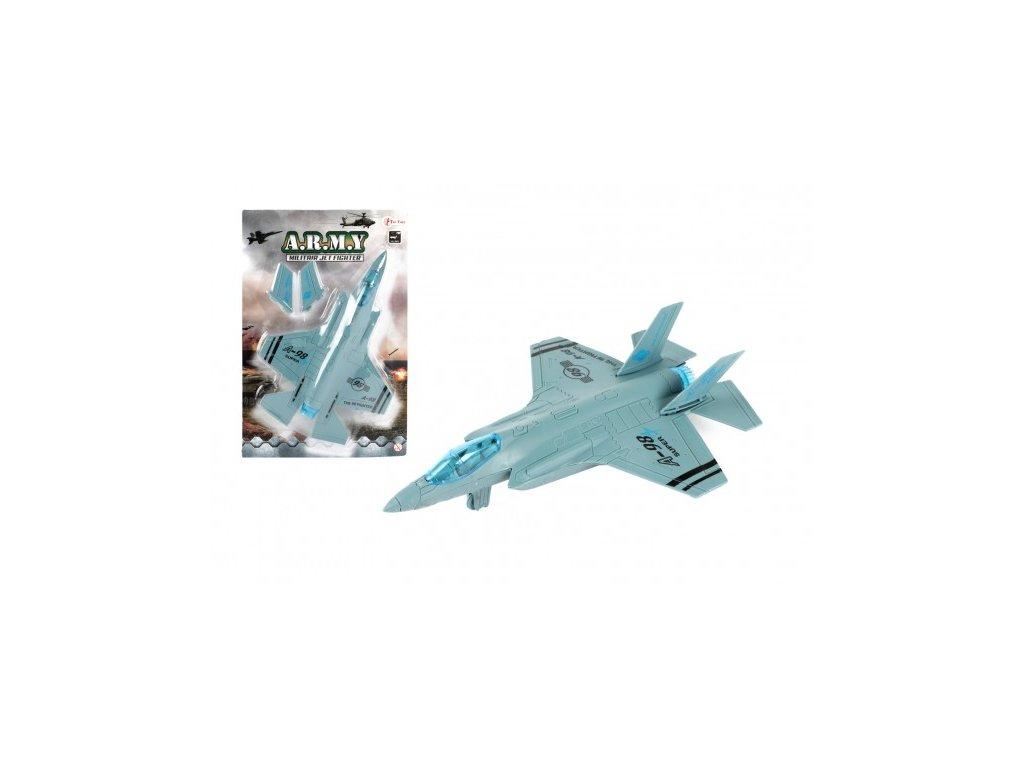 Letadlo/stíhačka vojenská A-98 na zpětné natažení