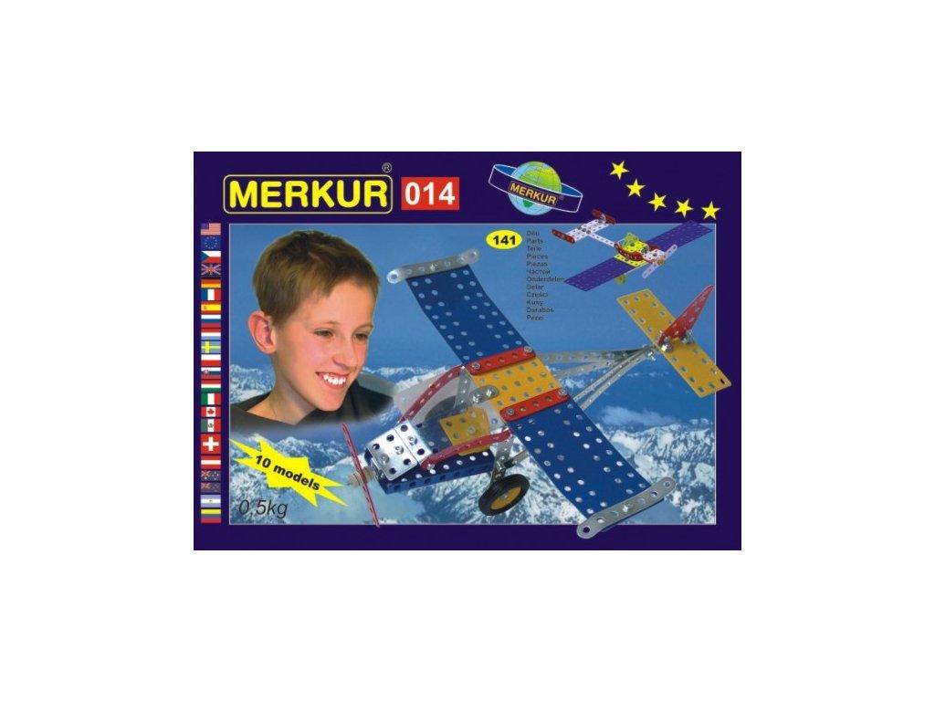 Stavebnice MERKUR 014 Letadlo 10 modelů