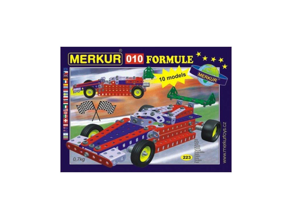 Stavebnice MERKUR 010 Formule 10 modelů