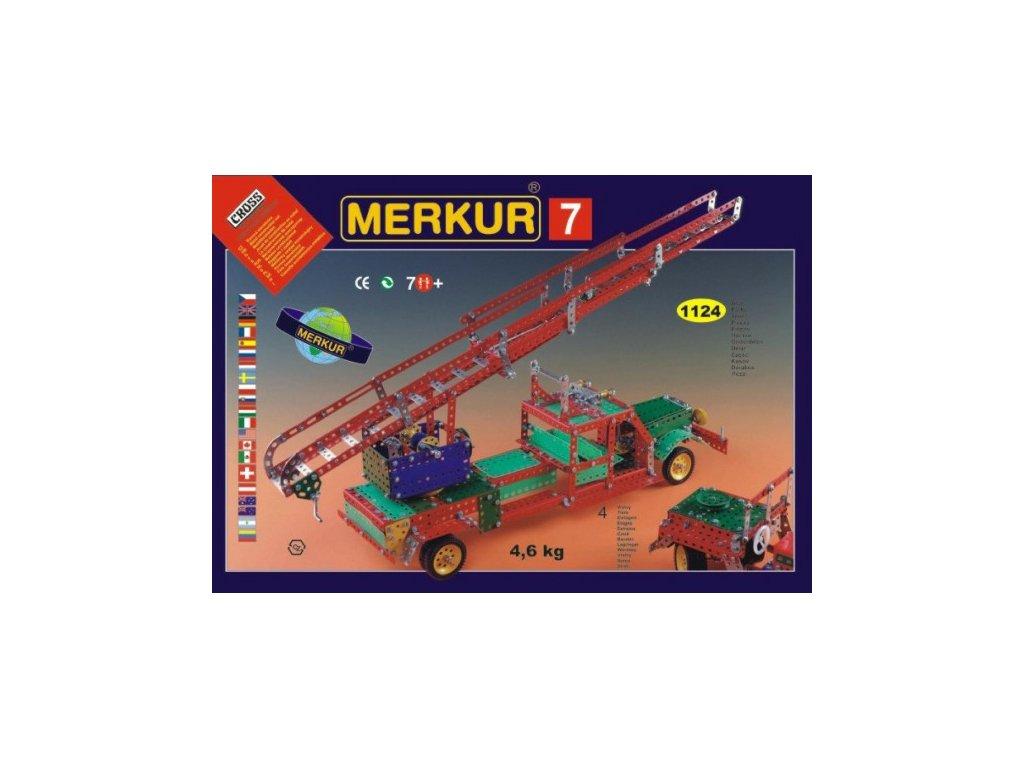Stavebnice MERKUR 7 100 modelů 4 vrstvy