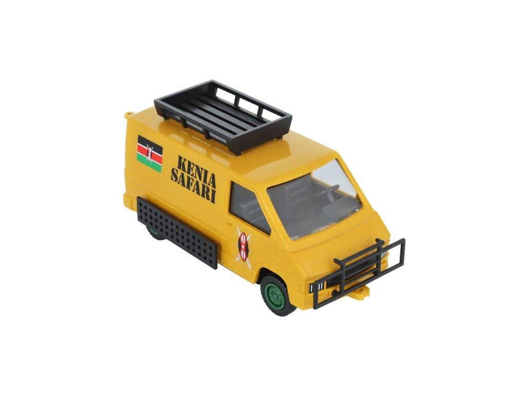 Stavebnice Monti 04 Kenya Safari Renault Trafic 1:48