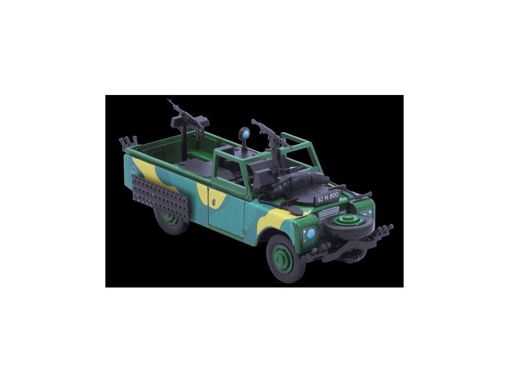 Stavebnice Monti 29 Commando Land Rover 1:35