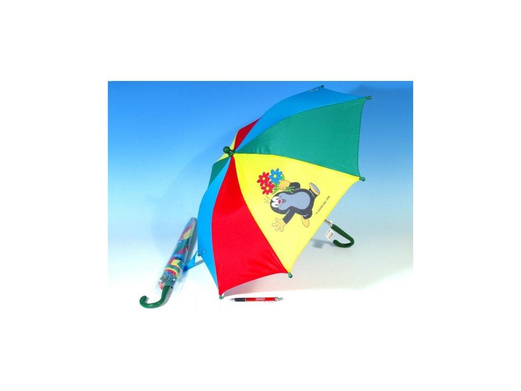Deštník Krtek mechanický 2 obrázky