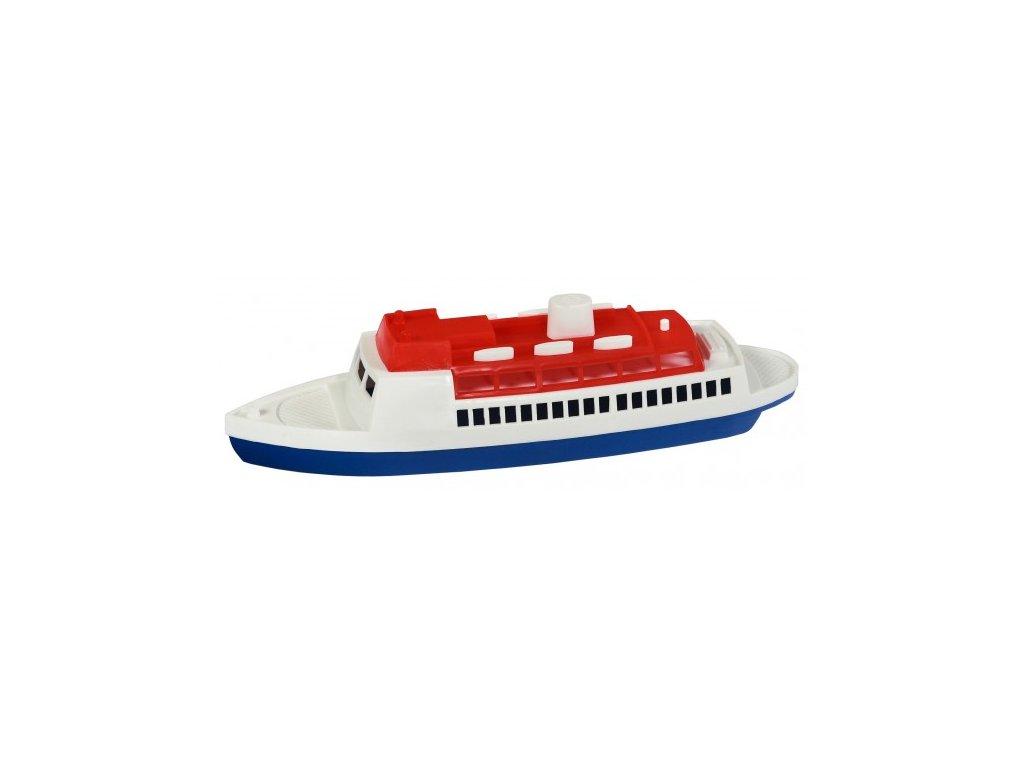 Loď/Člun - Parník oceánský