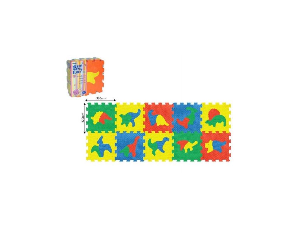 Pěnové puzzle Dinosauři 10ks