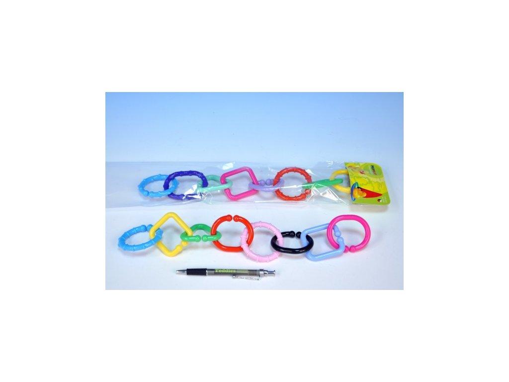Řetěz/zábrana 8 tvarů