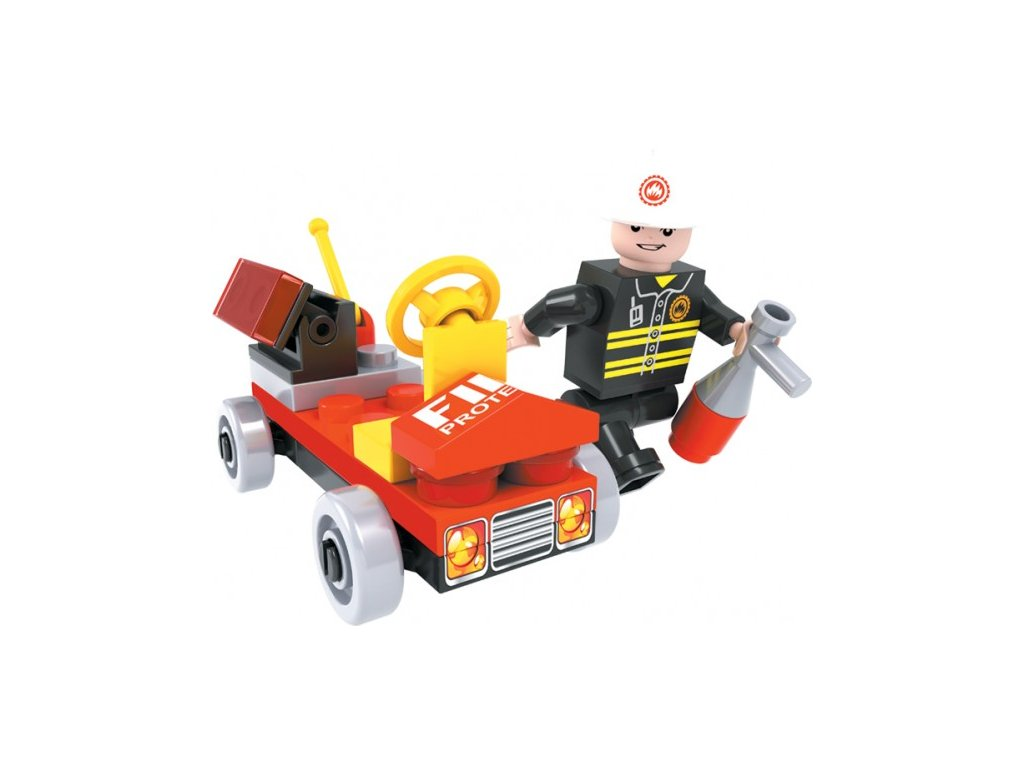 Stavebnice Dromader Hasičské auto 21101 31ks