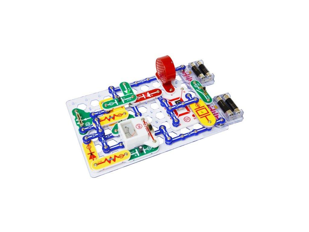 Stavebnice Boffin 500 elektronická 500 projektů na baterie 75ks