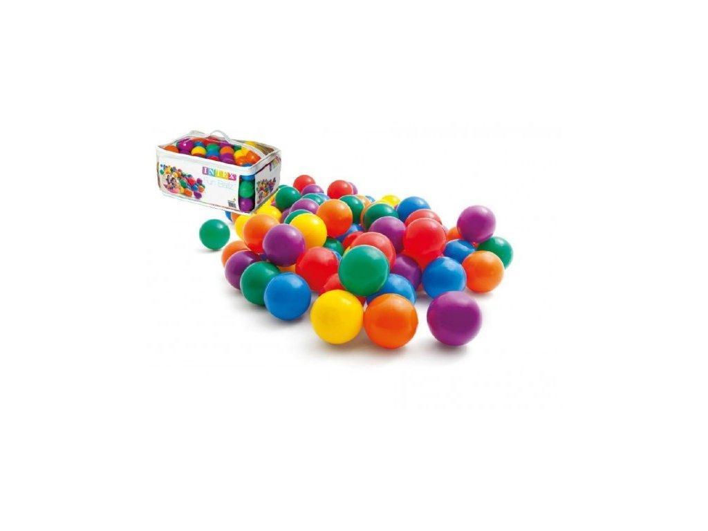 Míček/Míčky do hracích koutů barevný 100ks