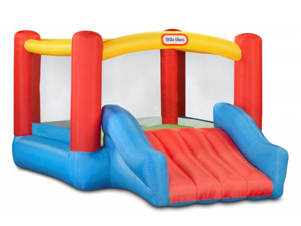 Little Tikes Nafukovací dětské hřiště se skluzavkou - Jr. Jump'n Slide